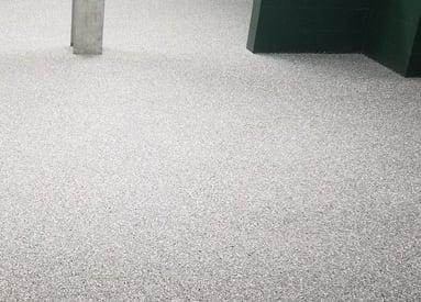 anti-slip quartz flooring for industrial workplaces