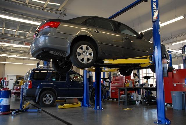 epoxy flooring for auto repair shops