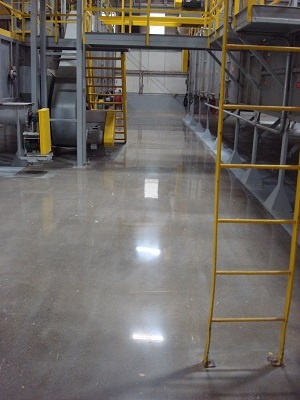industrial polished concrete
