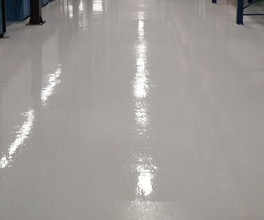 Urethane over cement flooring