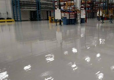 industrial urethane floor coating