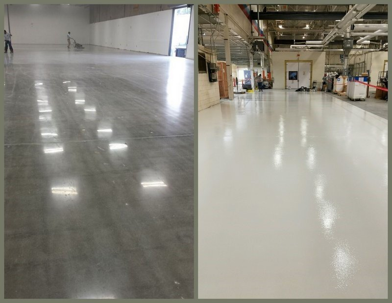 Concrete Floor Coating Vs Polished Concrete
